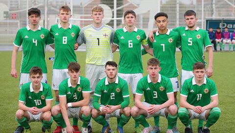 U18's defeat Jersey in International Friendly