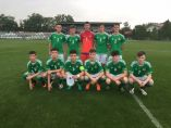 Under 16's draw opening game in Slovakia