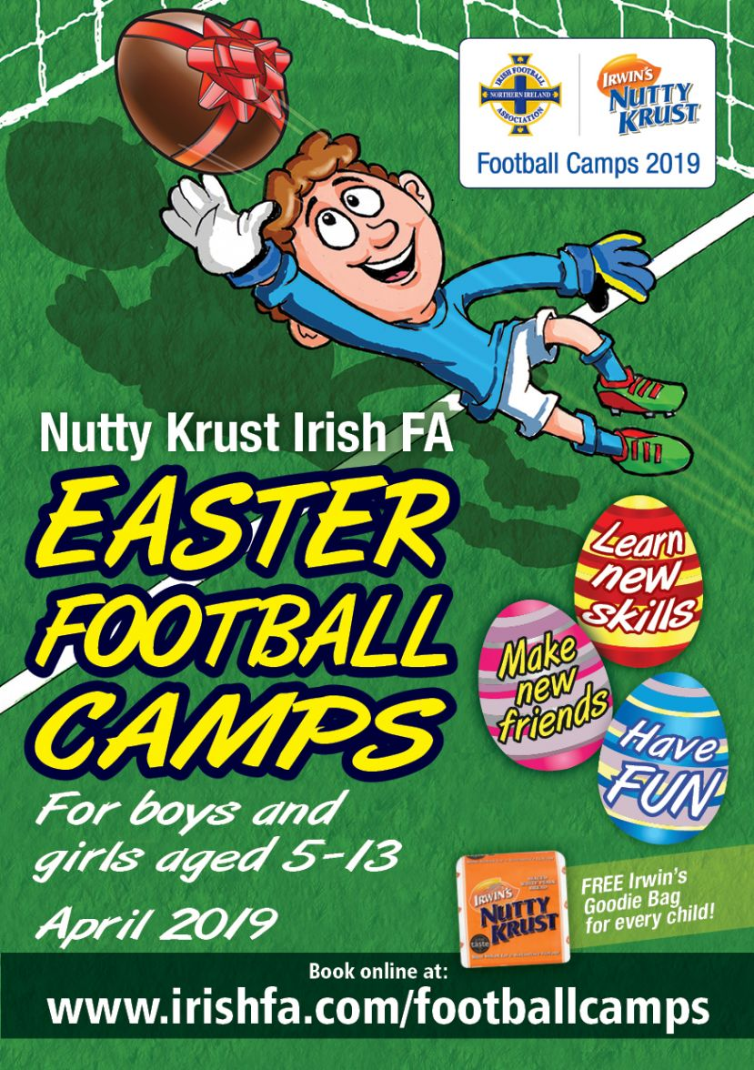 Nutty Crust Easter Football Camps