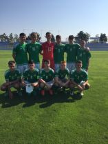 16's draw second game in Slovakia