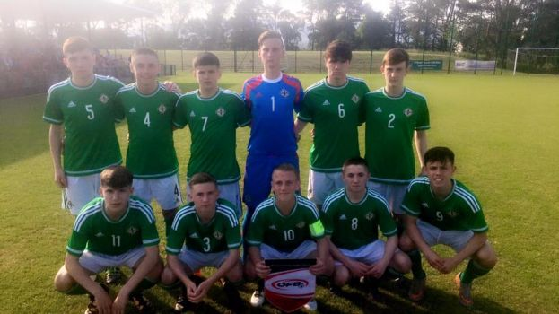 Austria prove stern test for NI U15