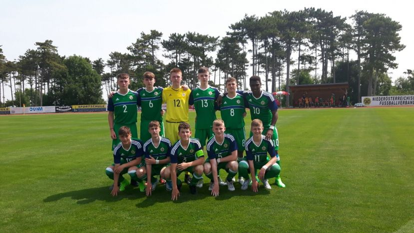U15's draw first game in Austria